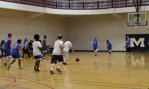 UM Students Lead Special Olympics Basketball Tournament
